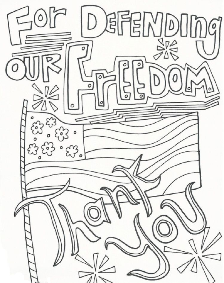 Drawing Memorial Day Coloring Pages | Coloring Pages ideas ...