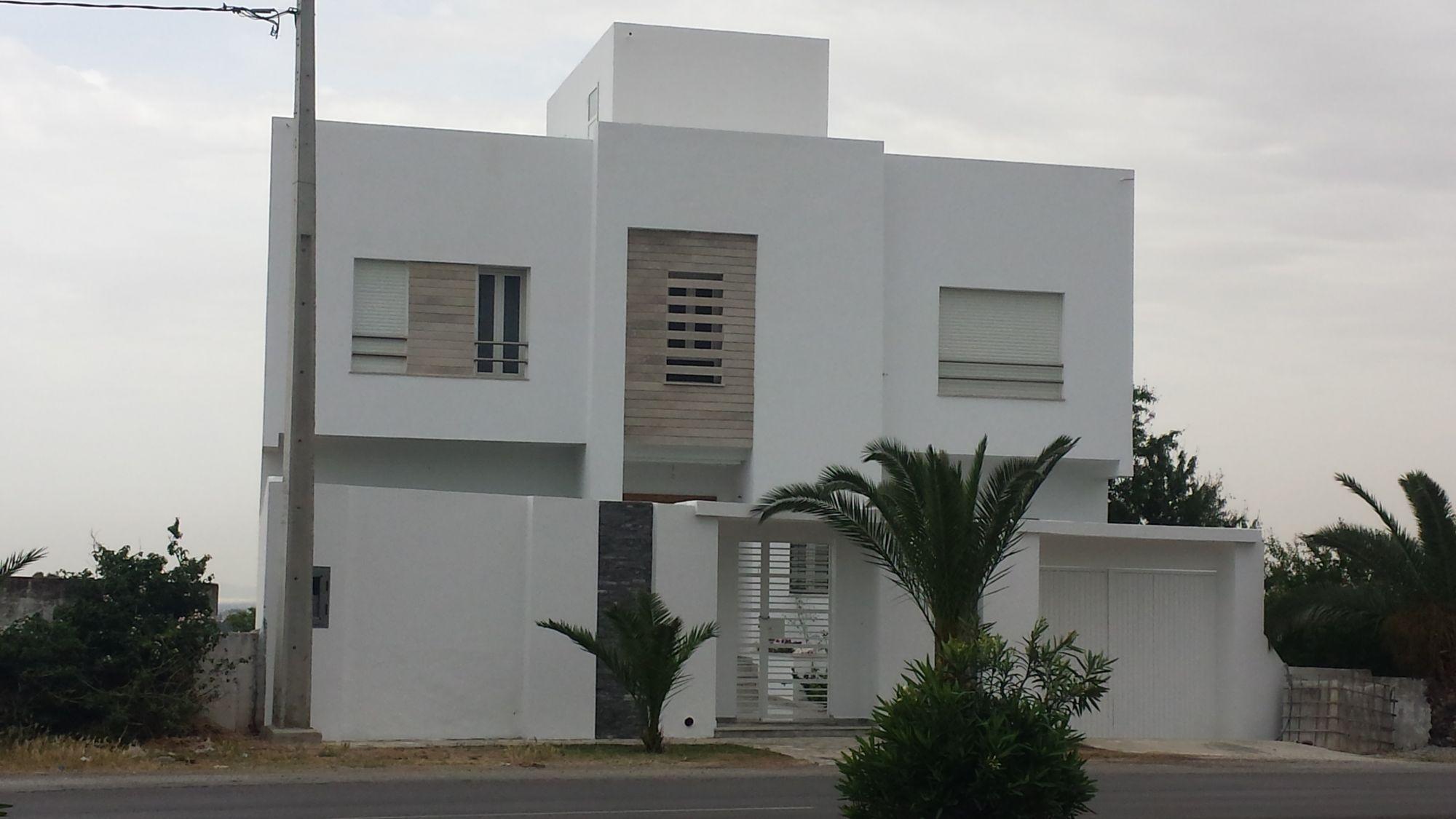 Villa Craxi Moderne Hammamet Nord Vente Villa à Hammamet Maison Style Plan De Maison Trouver Un Appartement