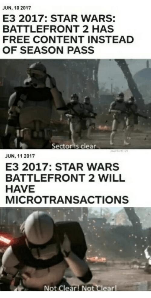Image Result For Star Wars Battlefront 2 Meme Star Wars Facts Star Wars Battlefront Star Wars Memes