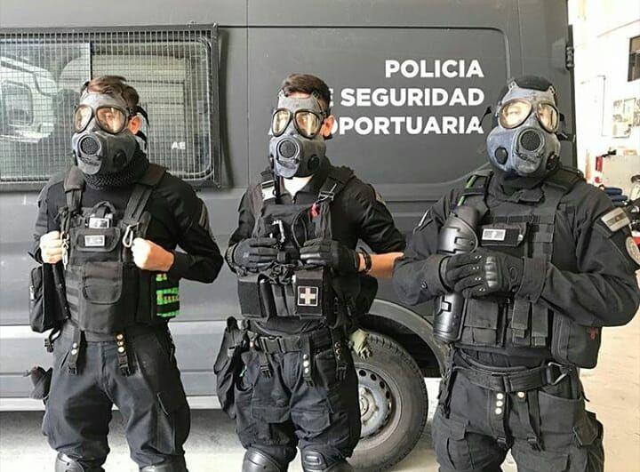 Resultado de imagen para policia aeroportuaria argentina