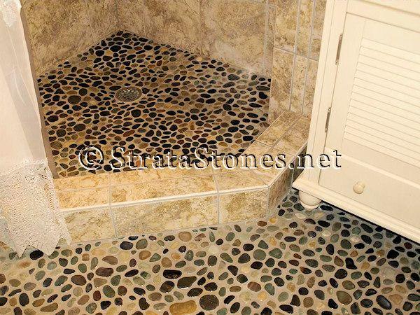 Bathroom Stone Tile Floors Tile Shower Floor Main Gallery Next