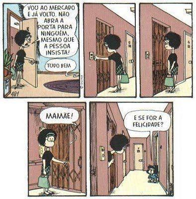 (Mafalda, por Quino)