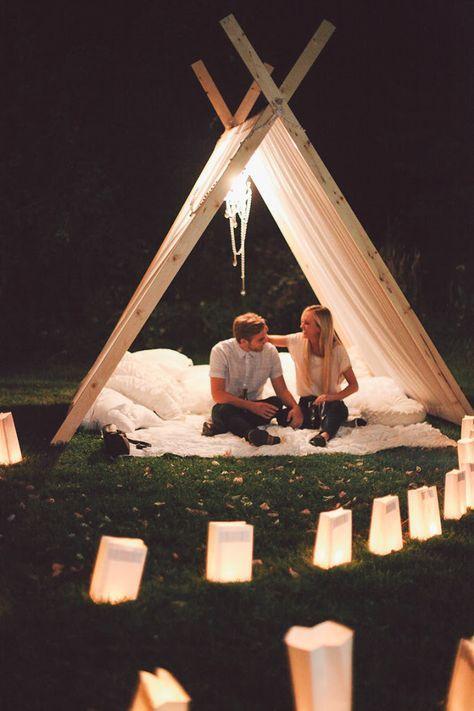 Best romantic camping ideas backyards Ideas   Dream dates ...