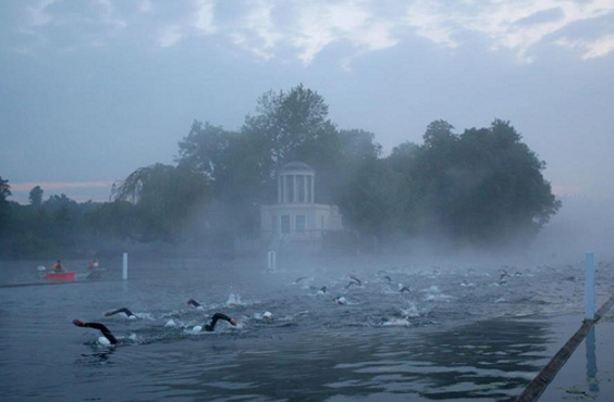 What to expect on your first open water swimming race