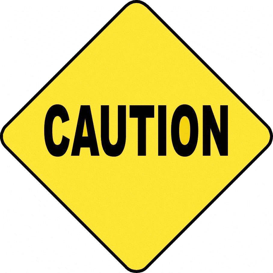 Caution Clipart Images Siluet