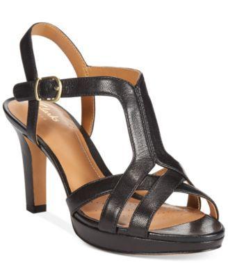 35acd6b6cab Clarks Artisan Women s Delsie Risa Platform Evening Sandals