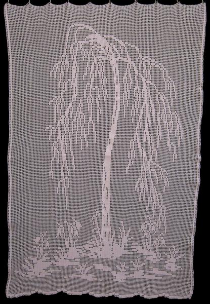 geh kelte gardine mit birken design abmessung ca 85 x 130cm bxh farbe die lachende. Black Bedroom Furniture Sets. Home Design Ideas