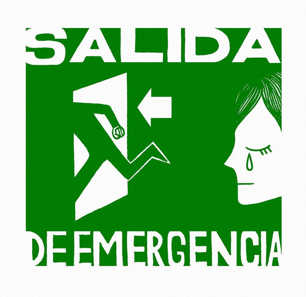 https://flic.kr/p/Bh7RGs   Salida de Emergencia/Emergency Exit/Sortie de Secours.   Salida de Emergencia/Emergency Exit/Sortie de Secours.   2015.