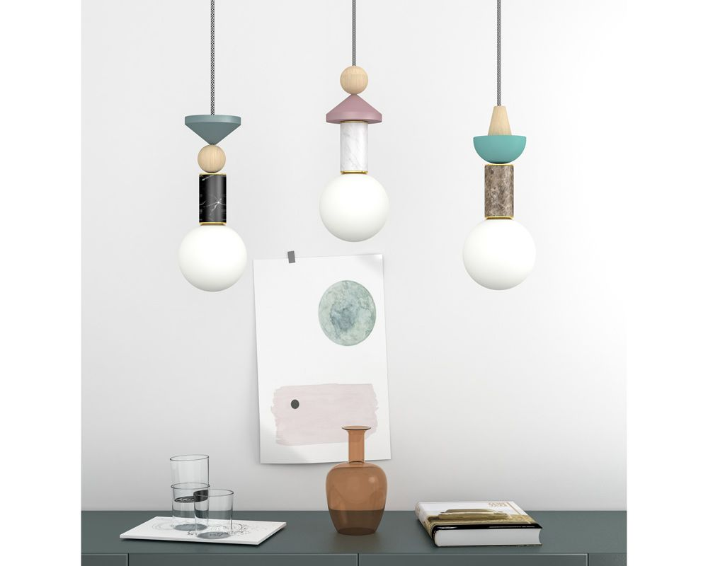 Creative Light Collection Inspired By The 80 S Memphis Style