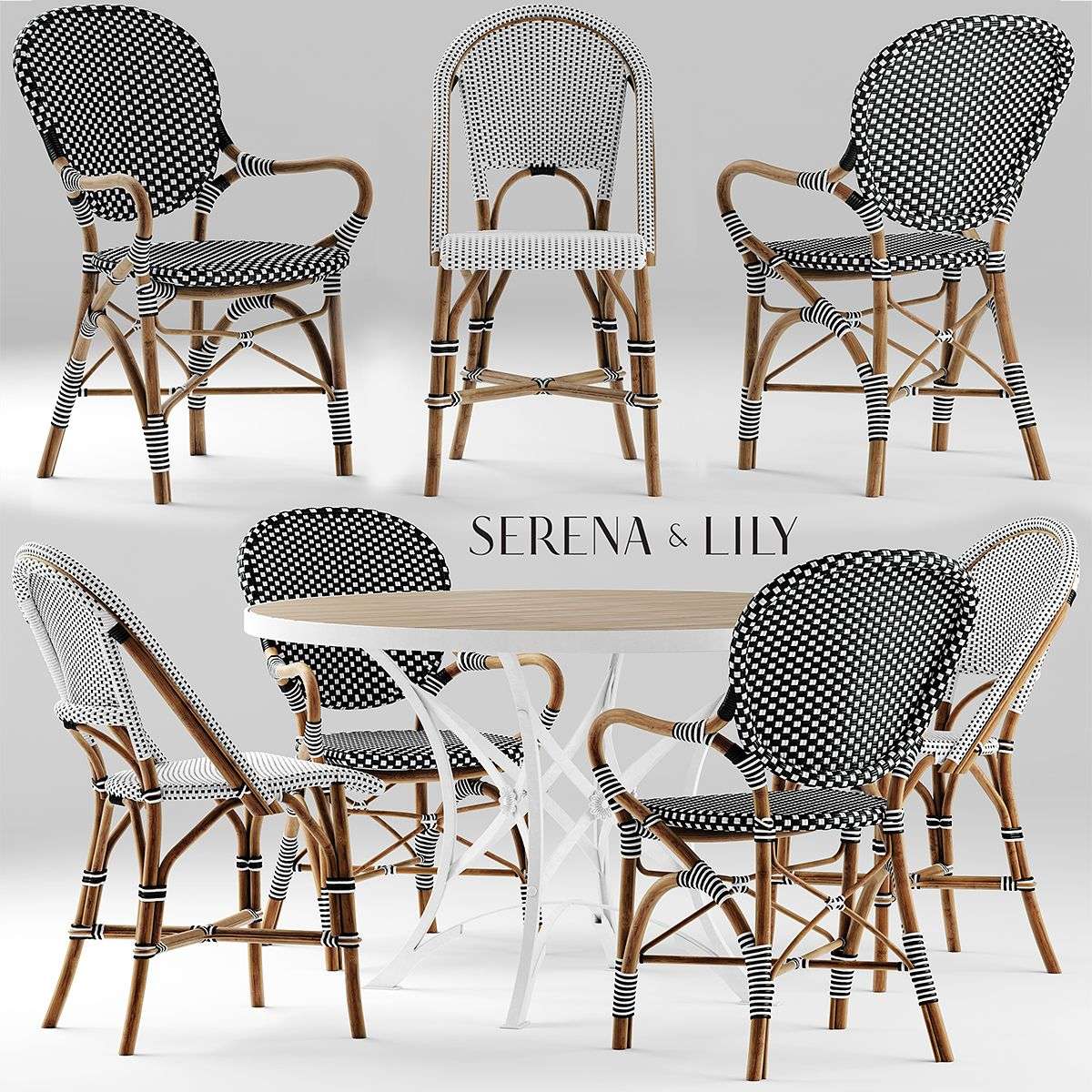 3D serena and lily chair Chair, Table and chairs, Dining