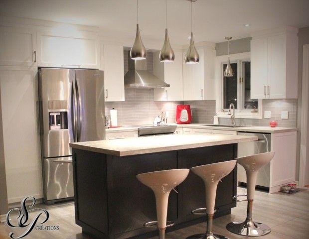 armoires de cuisine   cuisine moderne et stylisée