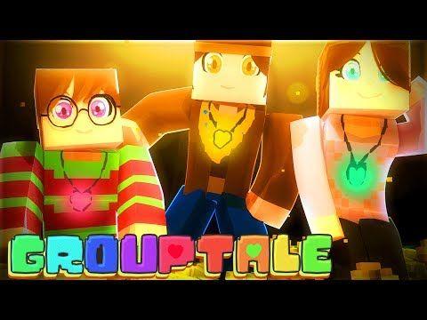 THE FALLEN CHILDREN! Minecraft GROUPTALE! UNDERTALE AU (Minecraft Undertale Roleplay) - YouTube