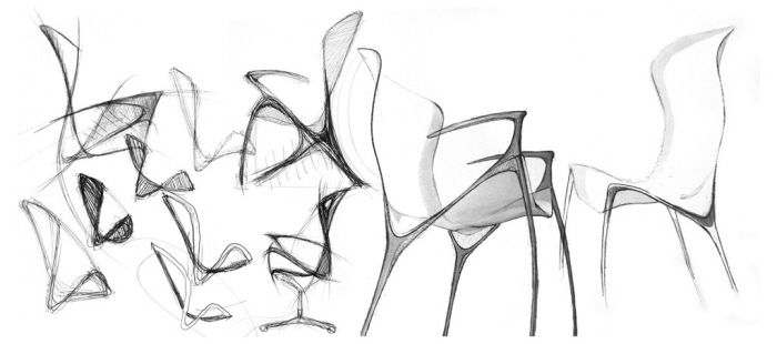 Industrial Design Sketches Chair Stylish Ideas And Furniture Analysis Sketching On Behance