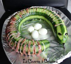 serpent-concombre-halloween #repashalloween