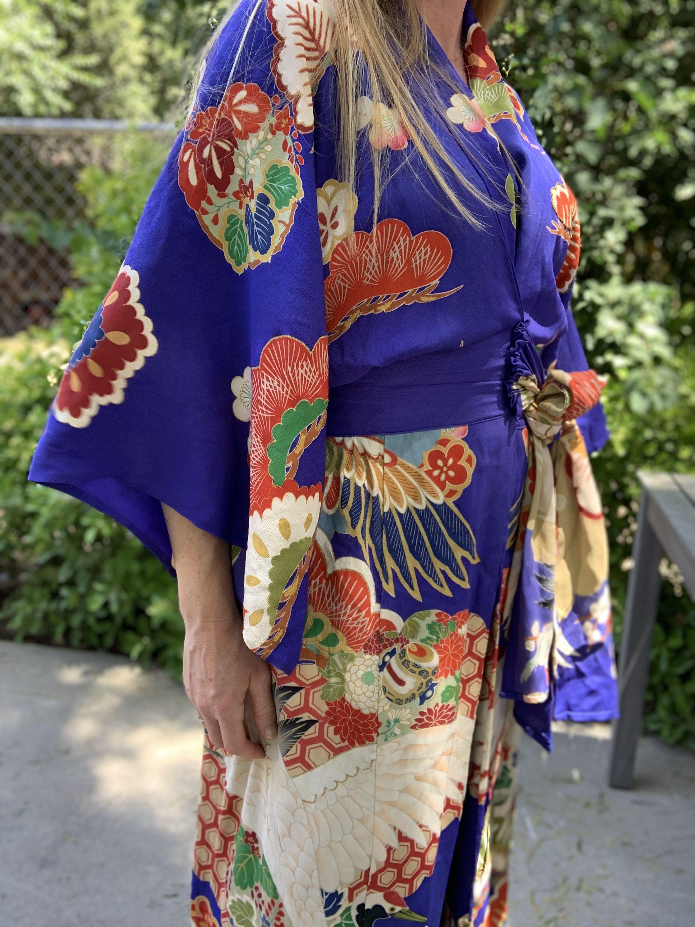 Vintage 1920s Kimono #vintagestyle #vintagefashion #1920s #20saesthetic #vintagestyle