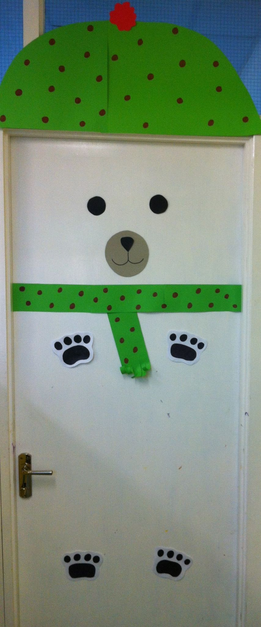 My Polar Bear Classroom Door Displays School Door
