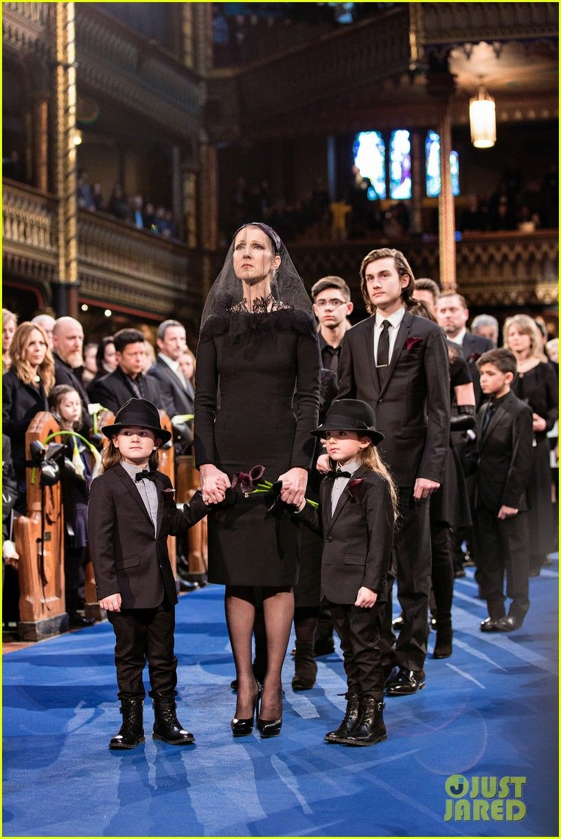 Céline Dion the First Statement after the funeral for the support, thanks