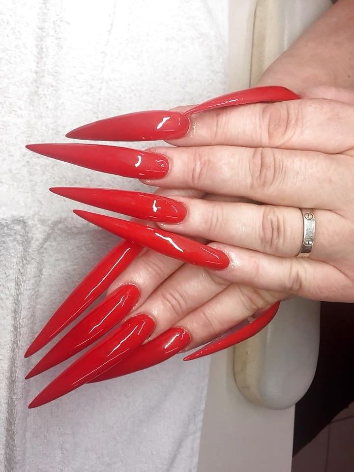 Pin By Simon Bailey On Nails Stiletto Nails Curved Nails Long