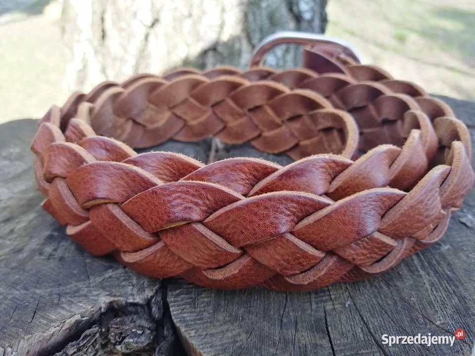 Pasek Skorzany Pleciony Made In Italy Depeche Eu Warszawa Sprzedajemy Pl Leather Bracelet Leather Bracelets