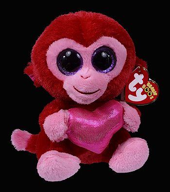 f439d970d94 Charming - monkey - Ty Beanie Boos Birthday  February 26