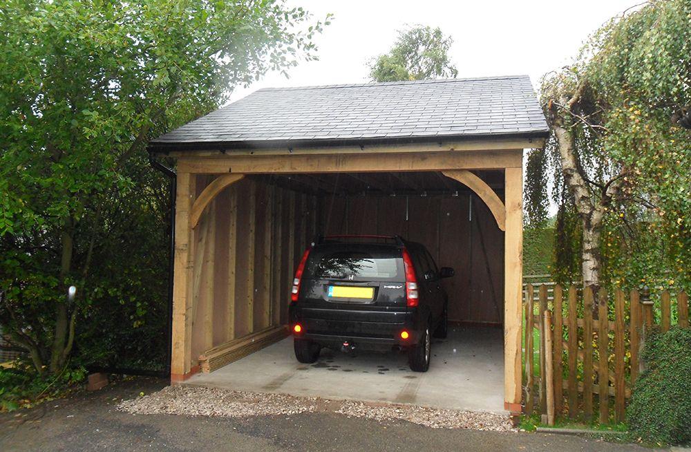 Oak Car Ports Carport, Wooden car, Car