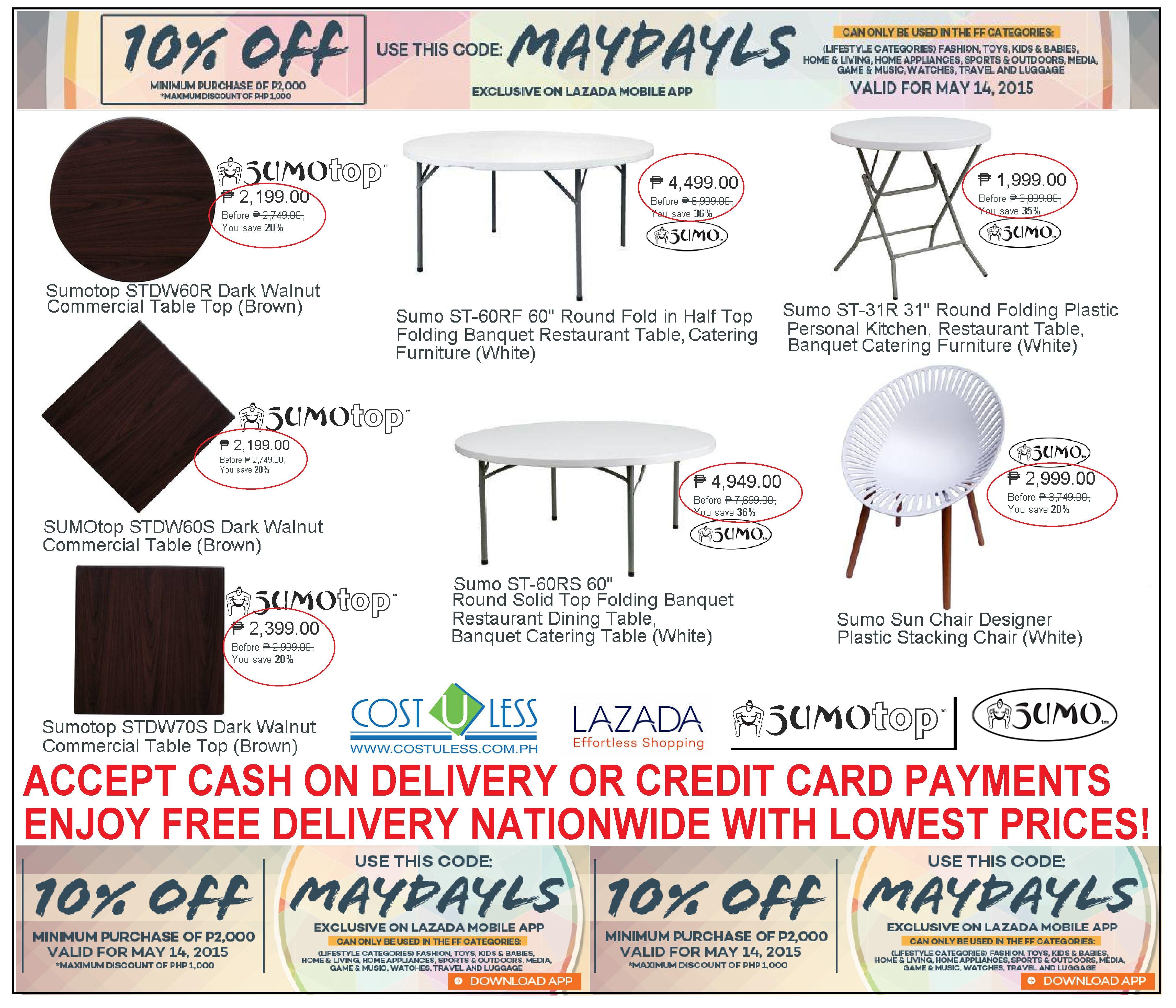 Home Living Furniture Sale Lazada Maydayls Promo Take 10 Off
