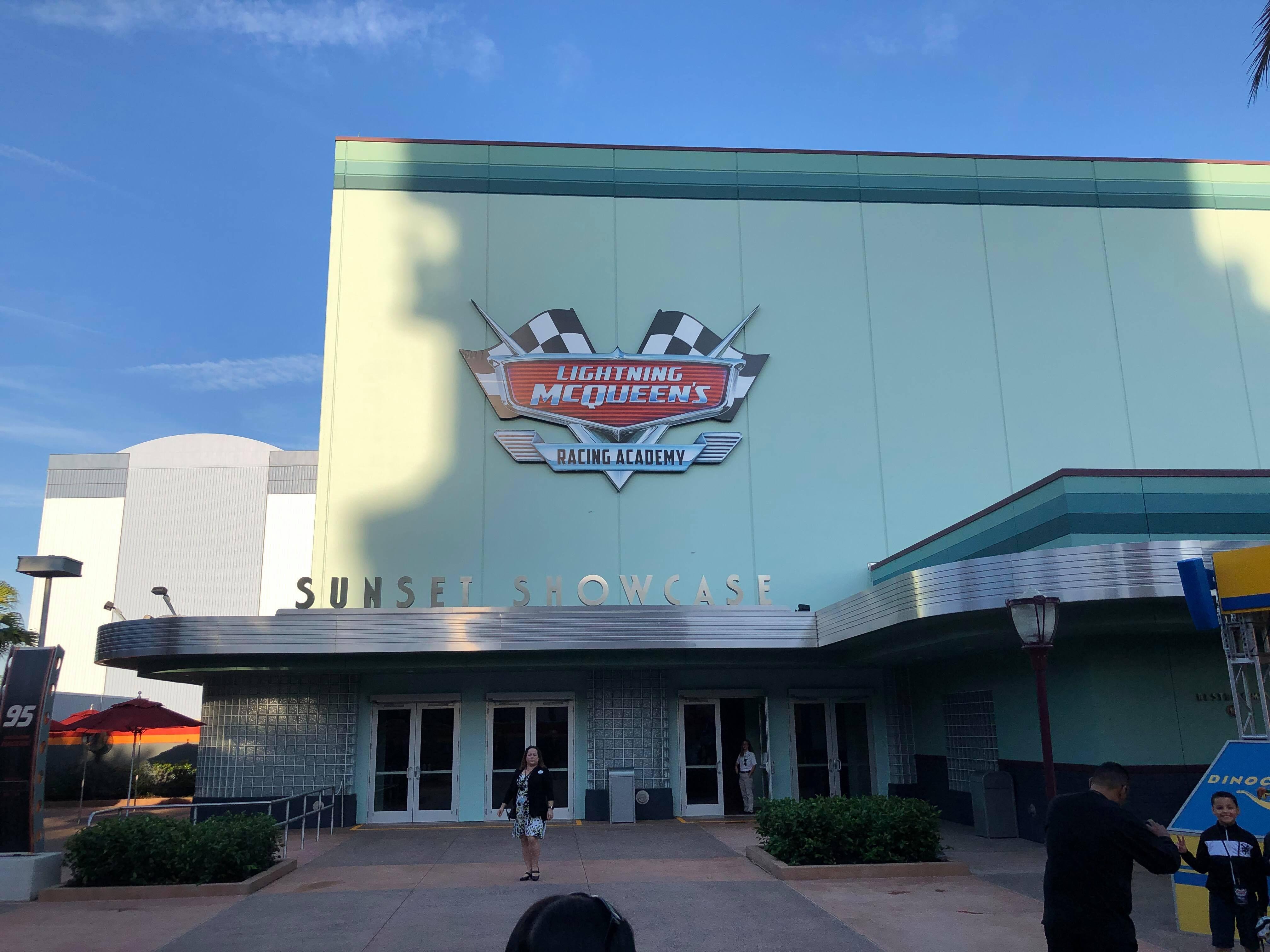 Lightning Mcqueen S Racing Academy In Hollywood Studios Hollywood Studios In Hollywood Lightning Mcqueen