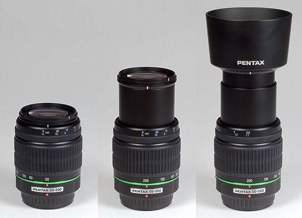 Pentax Smc Pentax Da 50 200mm F4 5 6 Ed Wr Lens Black Pentax Camera Pentax Lens