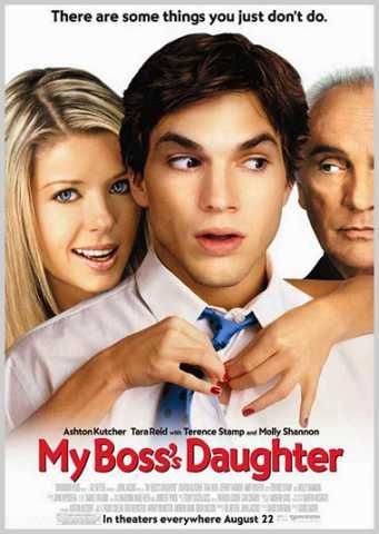 Ashton Kutcher is in so many movies in this romantic comedy poster ...