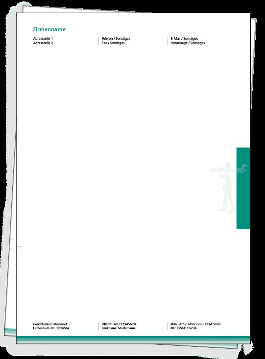 Briefpapier Online Gestalten Briefpapier Vorlagen Design