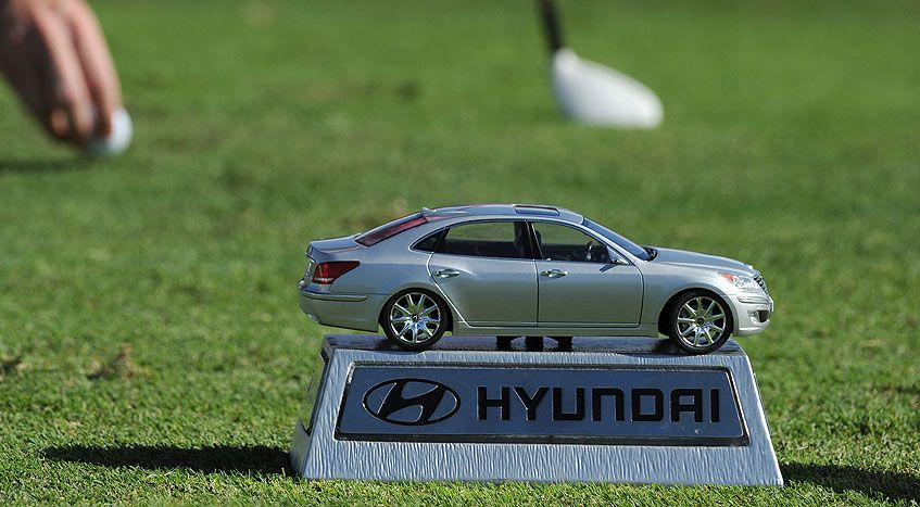 Hyundai Tournament Of Champions Hyundaiu0027s Markers Look Like Mini Cars That  Are Perfectly To Scale. No Word On Whether The Wheels Work. Or The Sunroof.