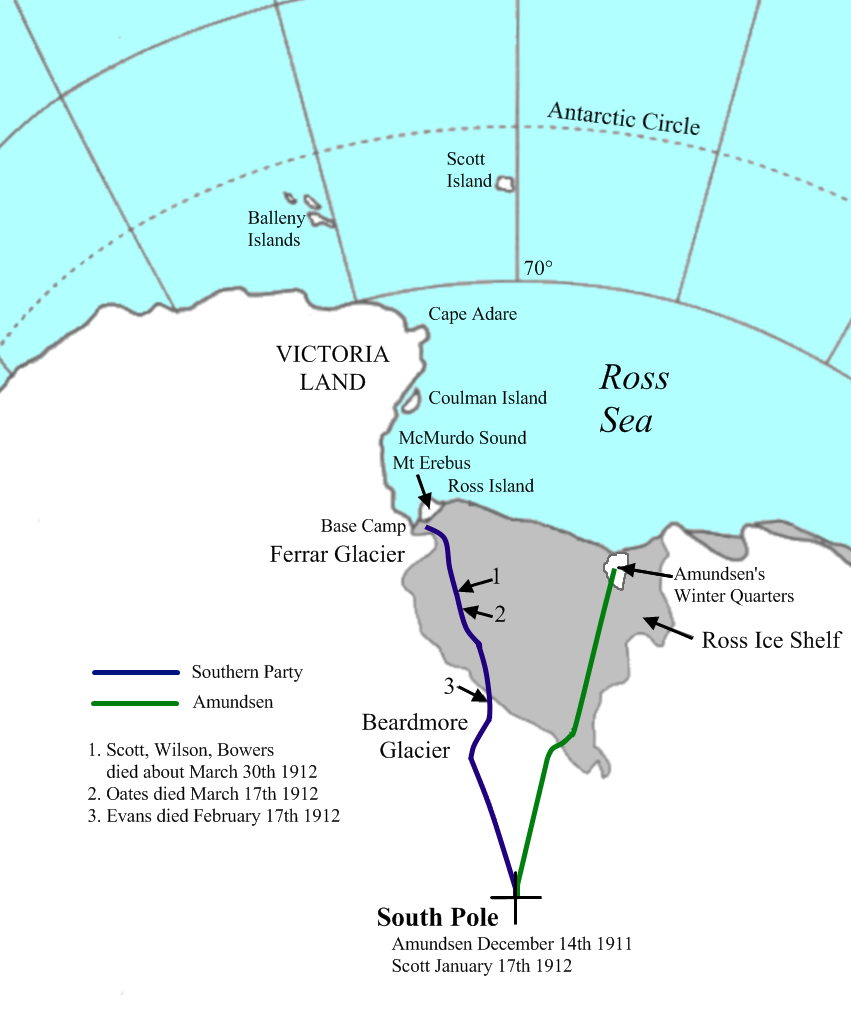 first expedition to antarctica
