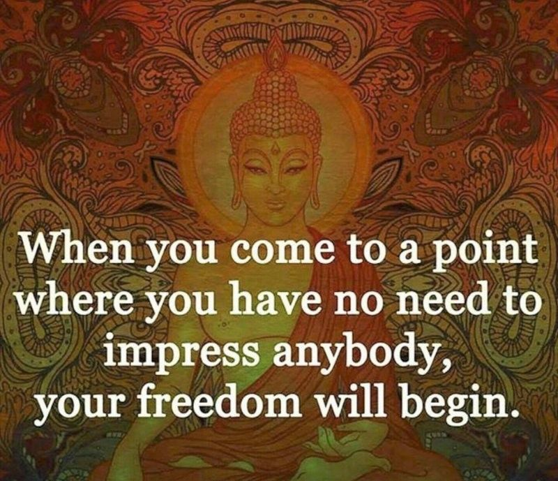 When you come to a point where you have no need to impress anybody, your freedom will begin #spiritual #spirituality #lifepurpose #purposeoflife #livethelifeyoulove #positiveenergy #manifestation #healing #love #innerpower #courage #highermind #powerthoughtsmeditationclub @powerthoughtsmeditationclub