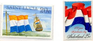 FLAGS and STAMPS