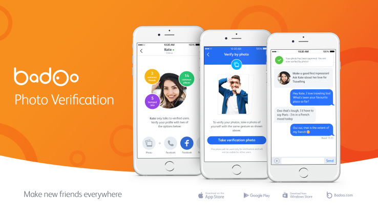 Badoo launches photo verification for safer more efficient