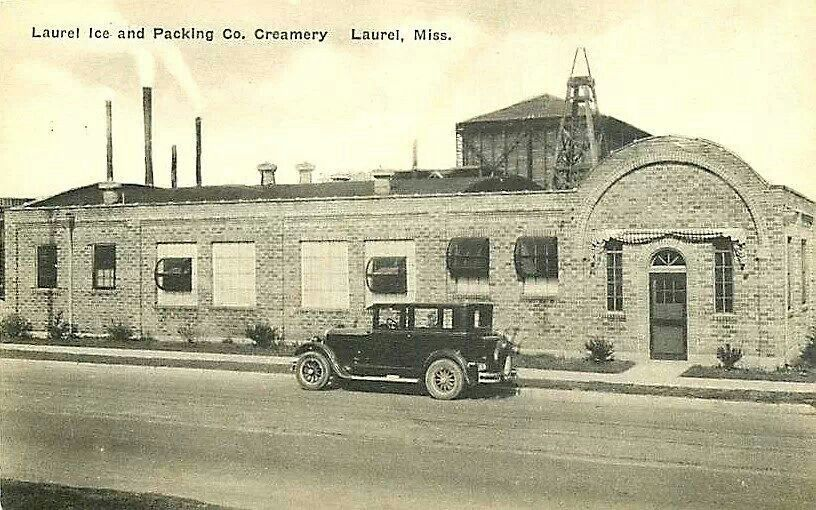1920s Ice House On 1st Ave Laurel Ms Laurel Places To Go Old Photos
