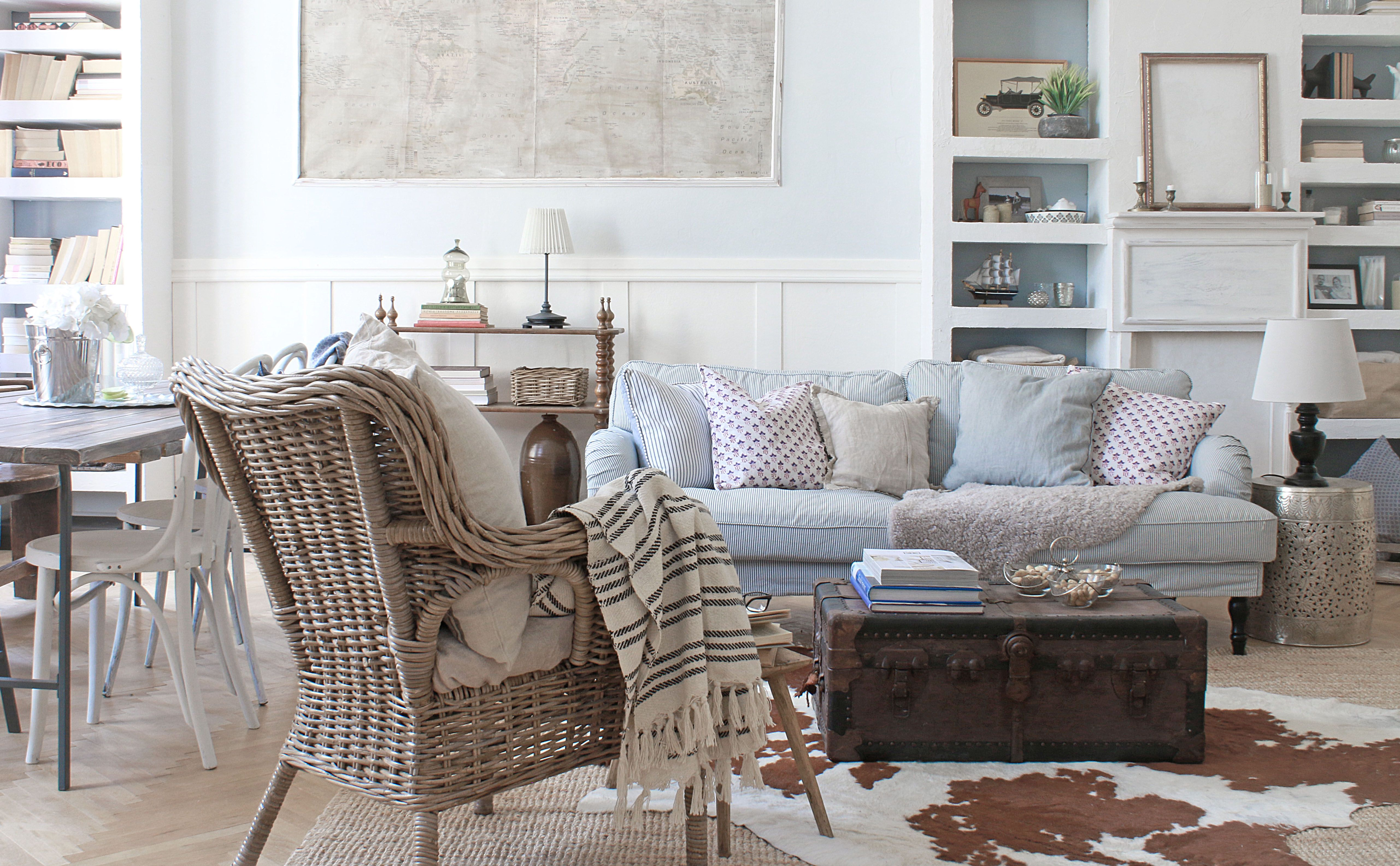Scandinavian Style Living Room Wicker Chair Old Map Built In Bookshelves Faux Fireplace Scandinavian Style Chairs Living Room Chairs Outdoor Furniture Sets