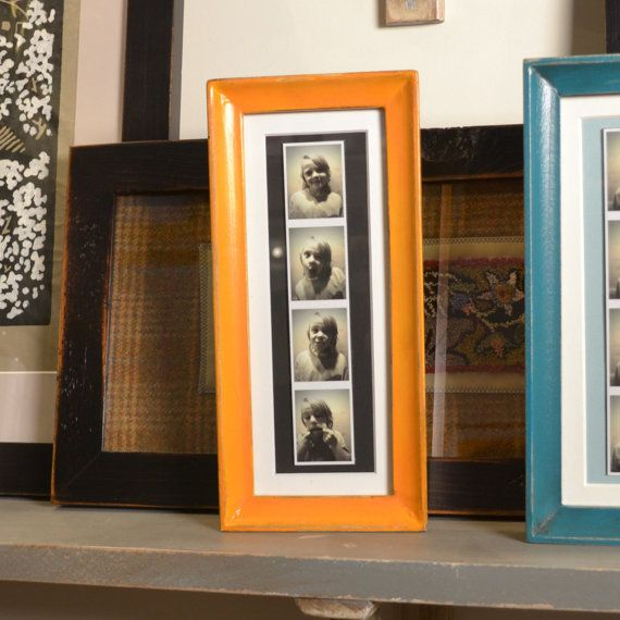 4x10 Picture Frame for PHOTO BOOTH STRIP in Foxy Cove Style and ...