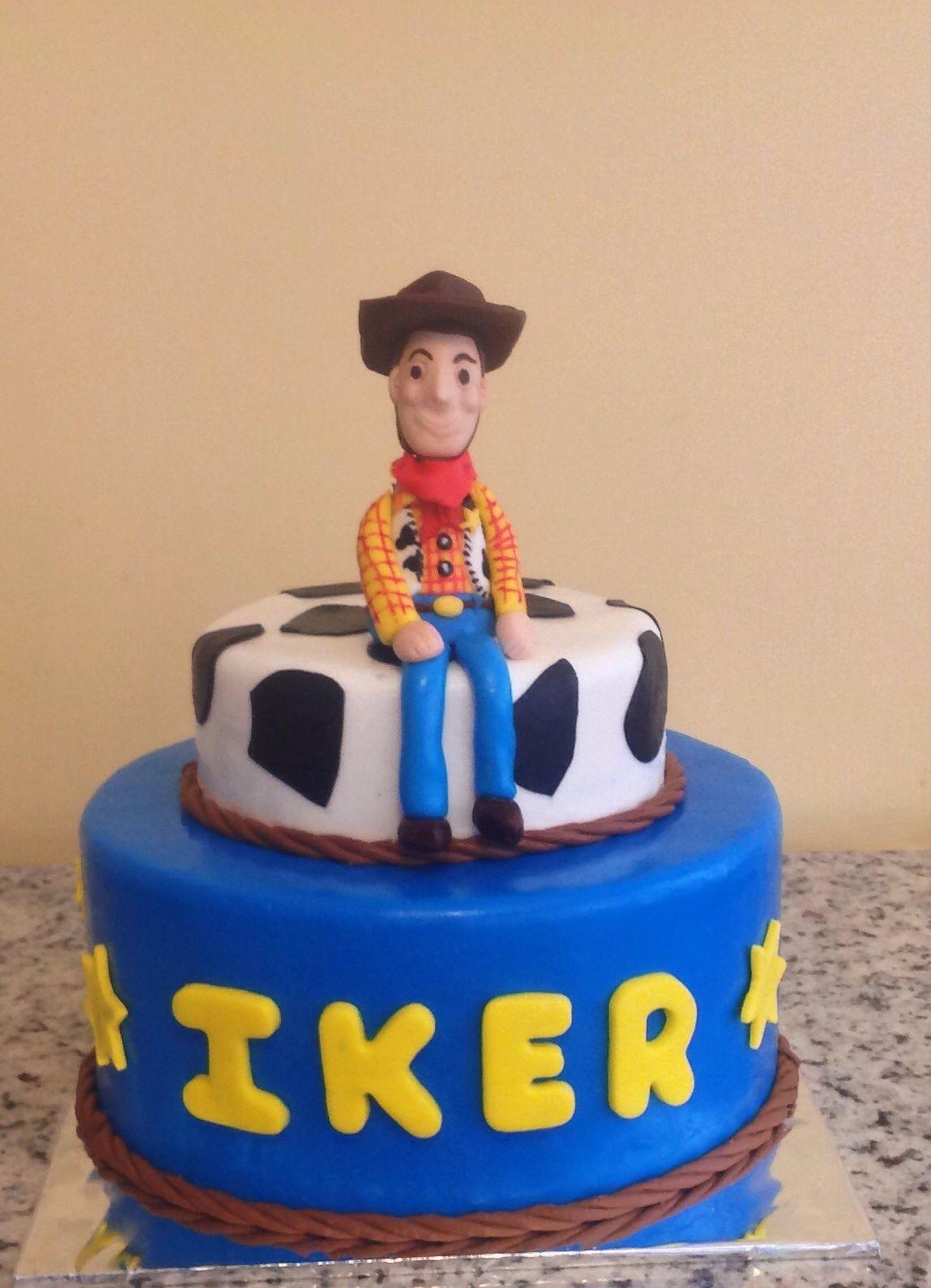 Pastel de Woody, de cake Rush, servicio de pasteles express