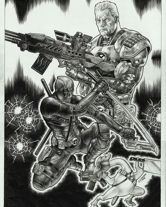 cable deadpool and the rubber chicken by geebo vigonte cable xforce