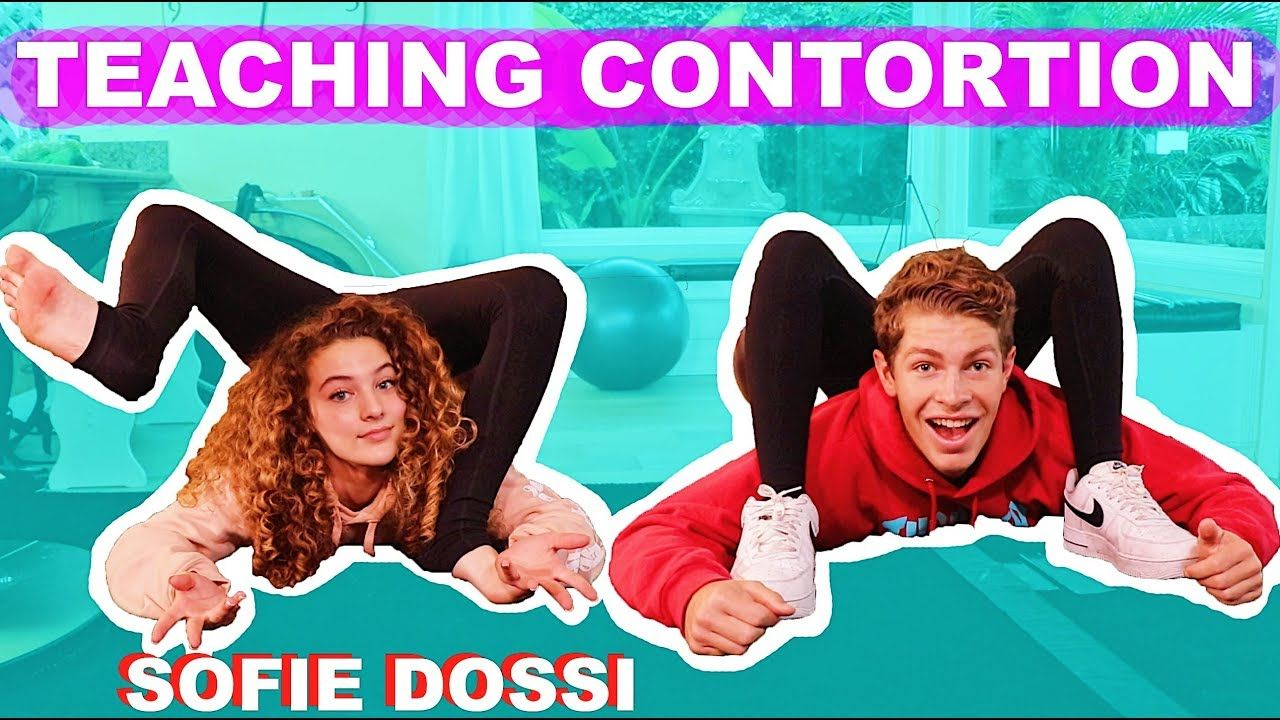 Sofie Dossi Teaches Me Contortion Painful Sofie Dossi Contortion Teaching