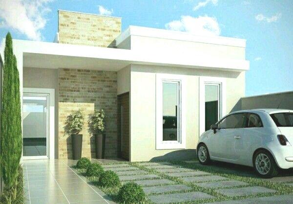 10 Frentes de casas sencillas
