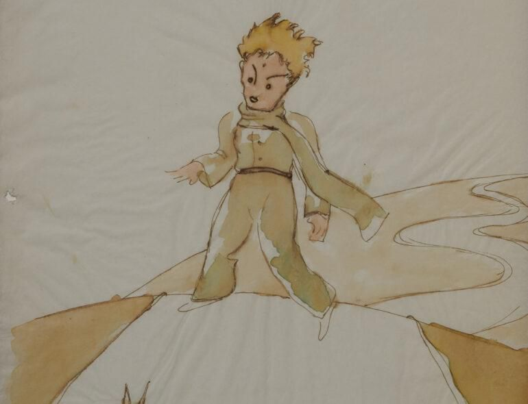 Early Sketches From 'The Little Prince' Found in Swiss Collection, #life, #business, #socialmedia, #...