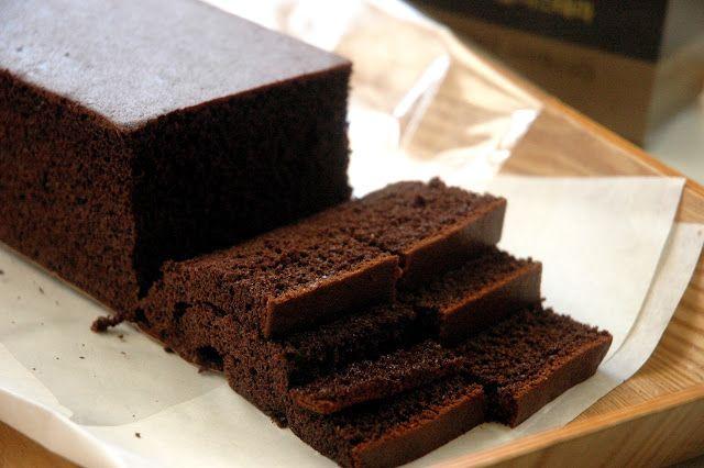 The Chocolate Castella P248 A Tous Les Jour Signature Cake Is Made From Premium Dark Chocolate Flour E Eggless Chocolate Cake Eggless Baking Cake Recipes