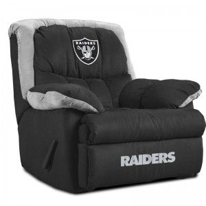 Oakland Raiders Home Recliner. This would be perfect in my ...