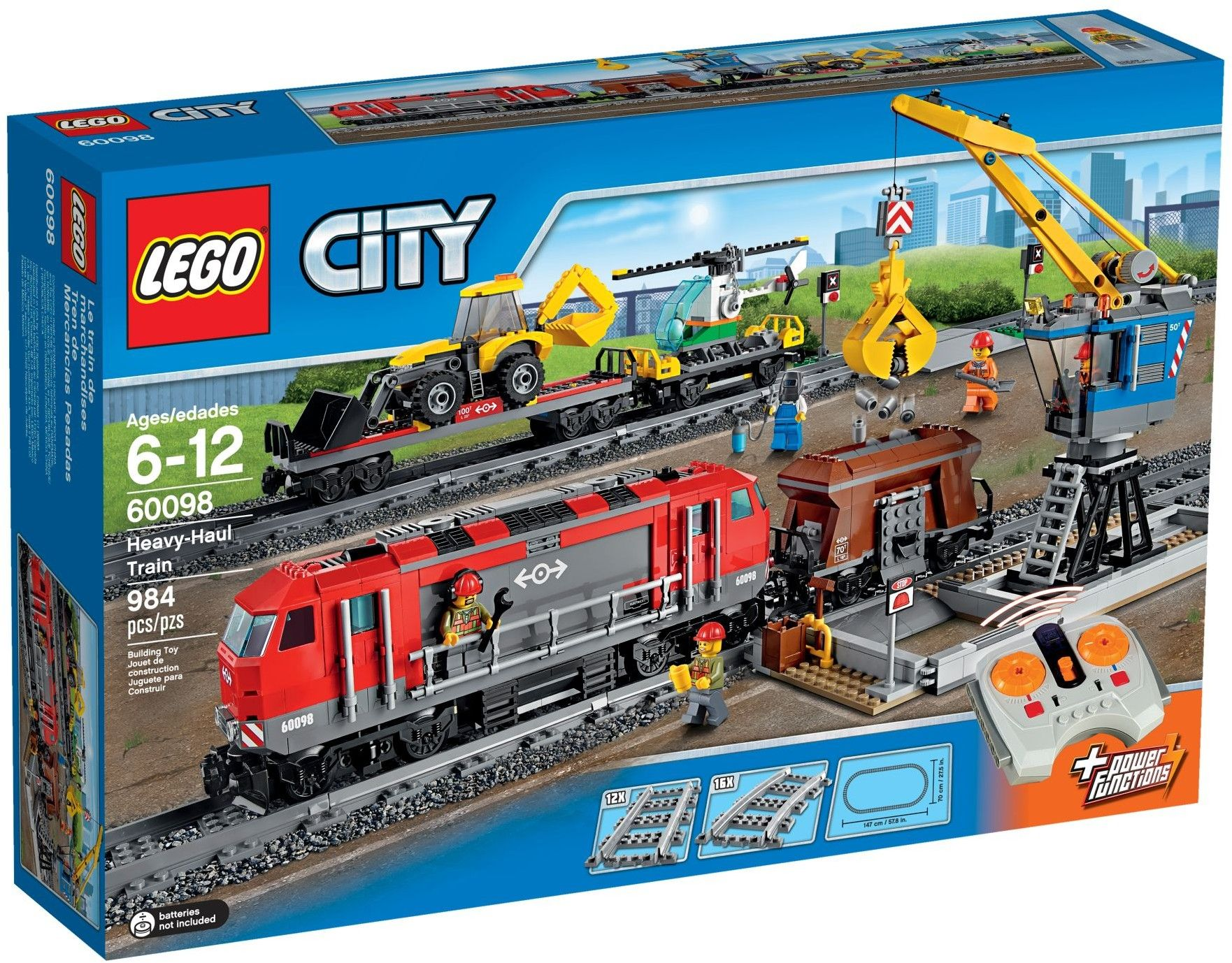 Cheap Bricks Lego 60098 Heavy Haul Train 2015 612 60098 629 984 Bootlegbricks Bricks Cheapbrick In 2020 Lego City Train Lego City Lego City Cargo Train