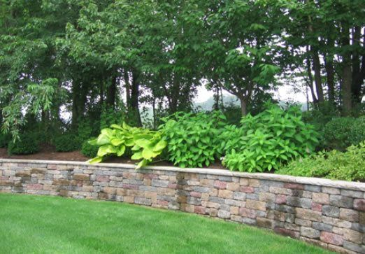 Retaining Wall Gallery Landscapingdesigns Backyard Landscaping Ideas Pinterest Walls And