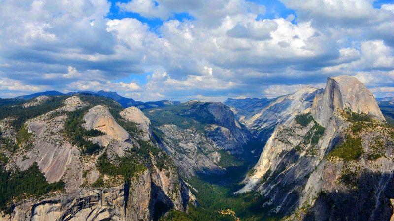 Yosemite, 5k, 4k wallpaper, 8k, forest, OSX, apple