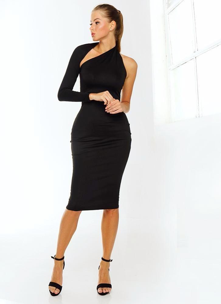Black Modern Dresses