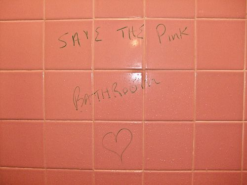 Save The Pink Bathroom Love Letter